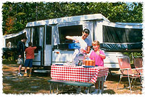 RV camping is affordable family fun